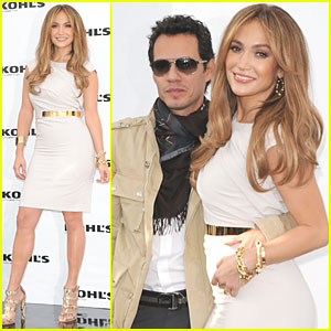 Jennifer Lopez & Marc Anthony: Two Kohl's Lines in the Works!