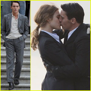 Jonathan Rhys Meyers: 'Belle' Kiss with Natalia Vodianova