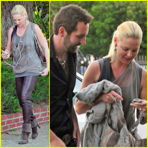Katherine Heigl & Josh Kelley: Dresden Dinner Date