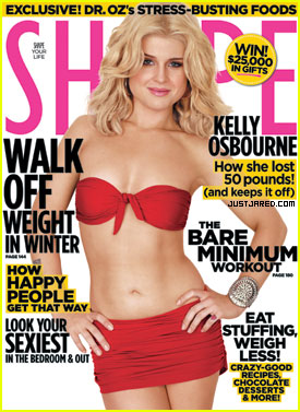 Kelly Osbourne Covers 'Shape' December 2010