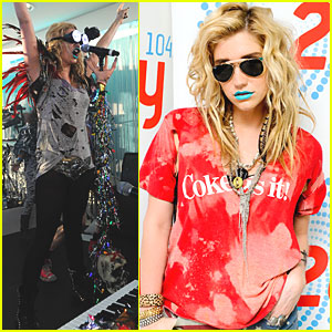 Ke$ha Shouts It From The Rooftops