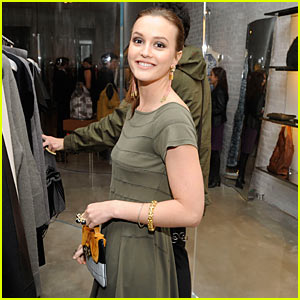 Leighton Meester: Vera Wang Fragrance's New Face!