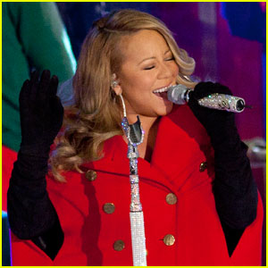 Mariah Carey: 'O Come All Ye Faithful' Video Premiere!