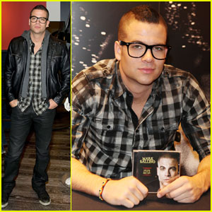 Mark Salling: 'Pipe Dreams' Signing at Guess!