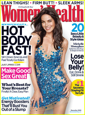 Michelle Monaghan Covers 'Women's Health' December 2010