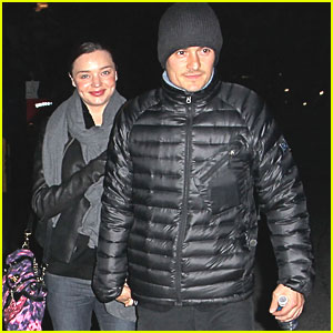 Orlando Bloom: Pink Floyd Concert with Miranda Kerr!