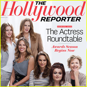 Nicole Kidman & Natalie Portman Cover The Hollywood Reporter!