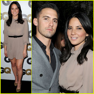 Olivia Munn & Milo Ventimiglia: GQ Party Pair