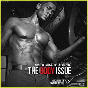 Pooch Hall: Shirtless for 'Kontrol' Magazine!