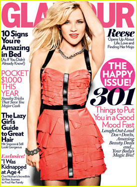 Reese Witherspoon Covers 'Glamour' January 2011