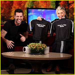 Ricky Martin Opens Up to Ellen DeGeneres