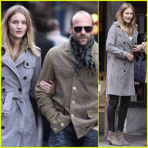 Jason Statham & Rosie Huntington-Whiteley: Tea Twosome