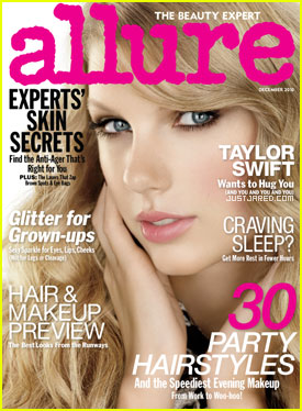 Taylor Swift Covers 'Allure' December 2010