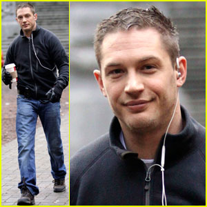 Tom Hardy Breaks For Brew