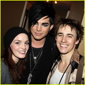 Adam Lambert: 'Spider-Man' with Reeve Carney!
