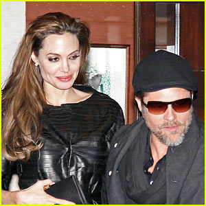 Angelina Jolie & Brad Pitt: Guy Savoy Dinner Date