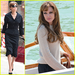 Angelina Jolie: New 'The Tourist' Pics!