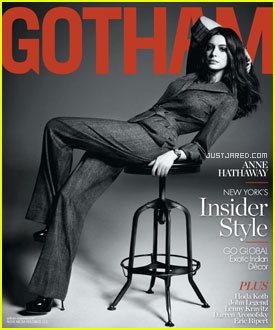 Anne Hathaway Covers 'Gotham' December 2010