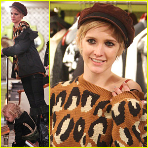 Ashlee Simpson: Vintage Clothing Shopping