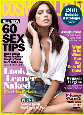 Ashley Greene Covers 'Cosmopolitan' January 2011