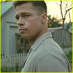 Brad Pitt - 'The Tree of Life' Trailer!