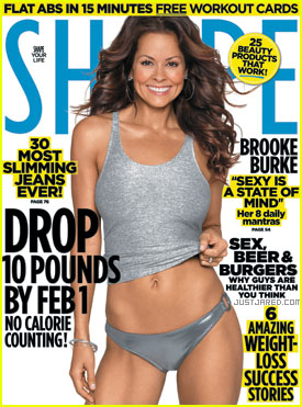 Brooke Burke Covers 'Shape' January 2011