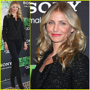 Cameron Diaz: 'Green Hornet' Press Conference