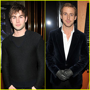 Chace Crawford & Ryan Gosling: 'Blue Valentine' After Party!