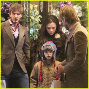 David & Victoria Beckham: Gordon's Christmas Party!