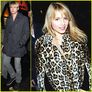 Dianna Agron & Chord Overstreet: Glee Takes Over London!
