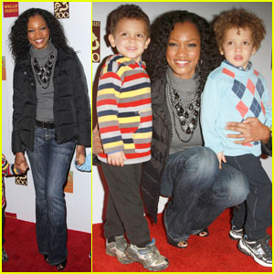 Garcelle Beauvais: Elephant Habitat with Jax & Jaid!