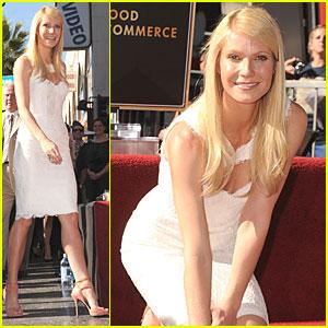 Gwyneth Paltrow: Hollywood Walk of Fame Star!