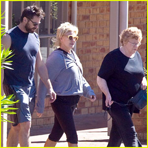 Hugh Jackman: Workout with Wife and Mother-in-Law
