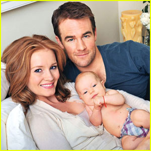James Van Der Beek: First Pic of Daughter Olivia!