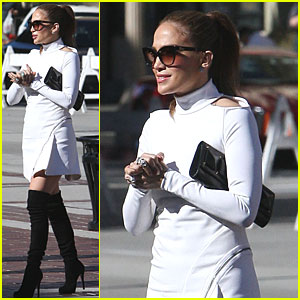 Jennifer Lopez: Hollywood Week on American Idol!