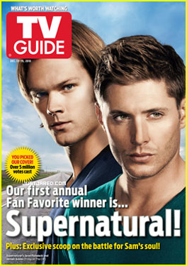 Jensen Ackles &#038; Jared Padalecki: TV Guide Fan Favorites!