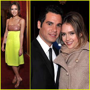 Jessica Alba: Miu Miu Launch Party with Cash Warren