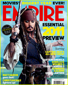 Johnny Depp Covers 'Empire' as Jack Sparrow!