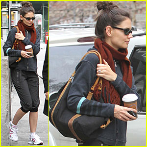 Katie Holmes' SoulCycle Spin Class -- Day Two