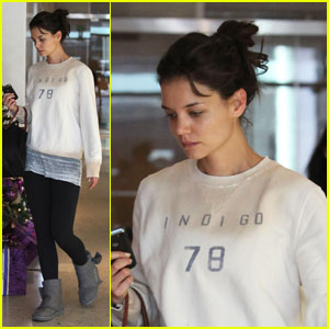 Katie Holmes: Weekend Workout Warrior