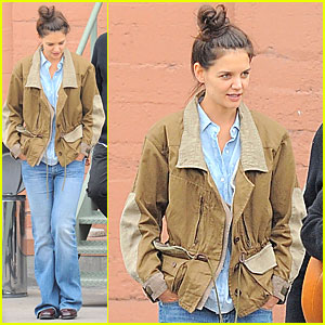Katie Holmes: Business Meeting with Jeanne Yang