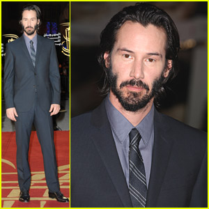 Keanu Reeves Hits Marrakech Film Festival