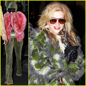 Nicki Minaj &#038; Ke$ha: Feathered Fun in NYC!