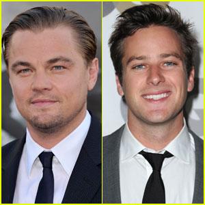 Armie Hammer: Leonardo DiCaprio's 'Hoover' Lover