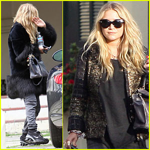 Mary-Kate Olsen: Pedicure On Our Toes, Toes