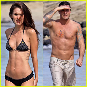 Megan Fox's Bikini Takes Hawaii