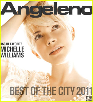Michelle Williams Covers 'Angeleno' January 2011