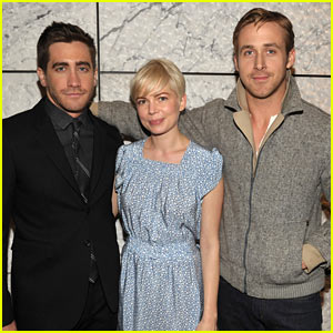 Jake Gyllenhaal: 'Blue Valentine' Screening with Michelle Williams!