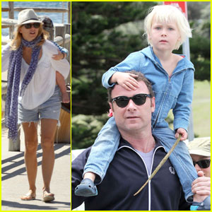 Naomi Watts & Liev Schreiber Soak Up the Sydney Sun