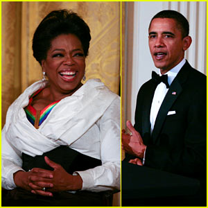 Oprah Winfrey: Kennedy Center Honors with President Obama!